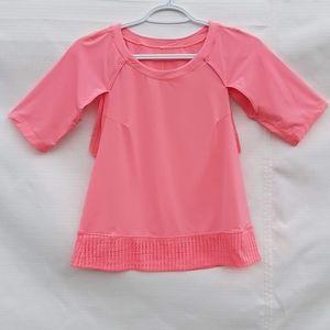 Ivivva by Lululemon Girl's Bubblegum Pink Shirt